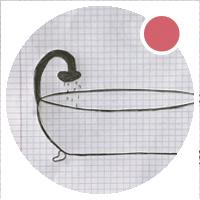 icona home disegno vasca